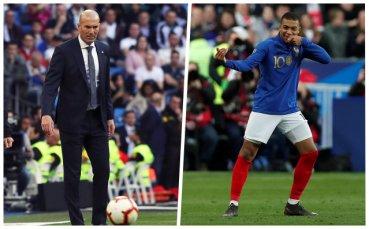В Испания: Мбапе говорил със Зизу за трансфер в Реал