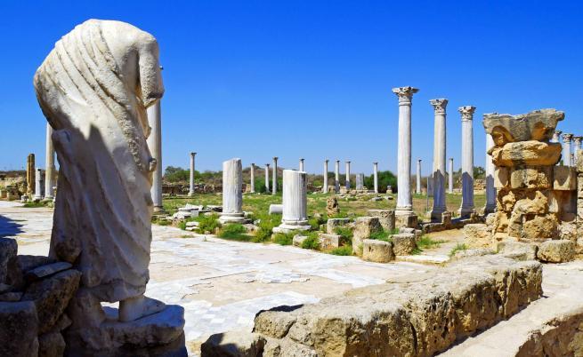 Останки от Римската империя във Фамагуста, Северен Кипър