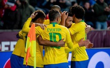 Пражка одисея за Бразилия срещу Чехия