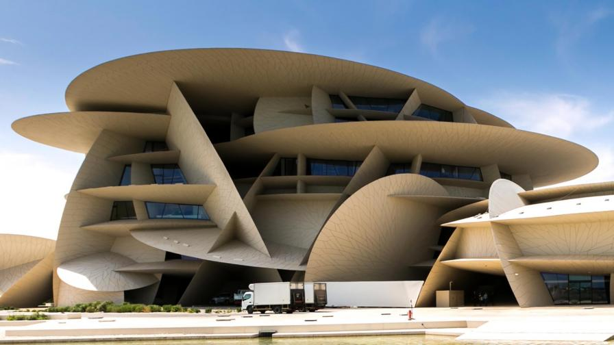 Впечатляващият нов музей на Катар (СНИМКИ)