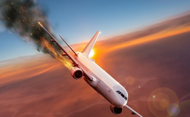 За самолетните катастрофи и шансовете ни да оцелеем