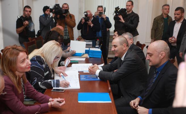 Партии и коалиции се регистрират за евроизборите