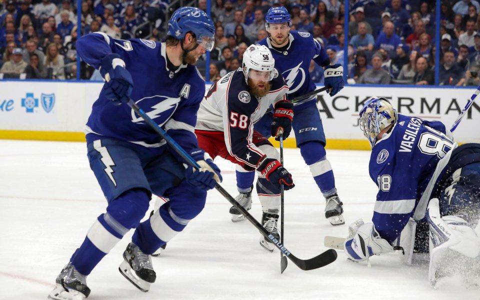 Калъмбъс със знаменит обрат в плейофите на НХЛ