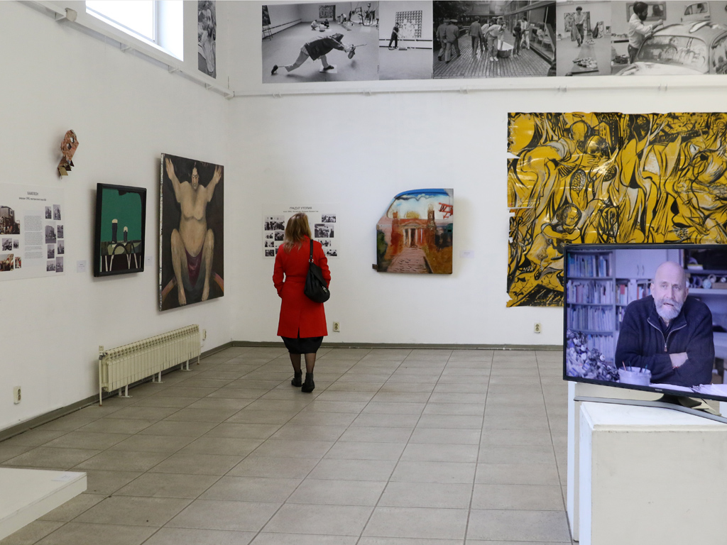 Изложбата ще продължи до 23 април 2019 в галерия Академия на ул. Шипка 1, София