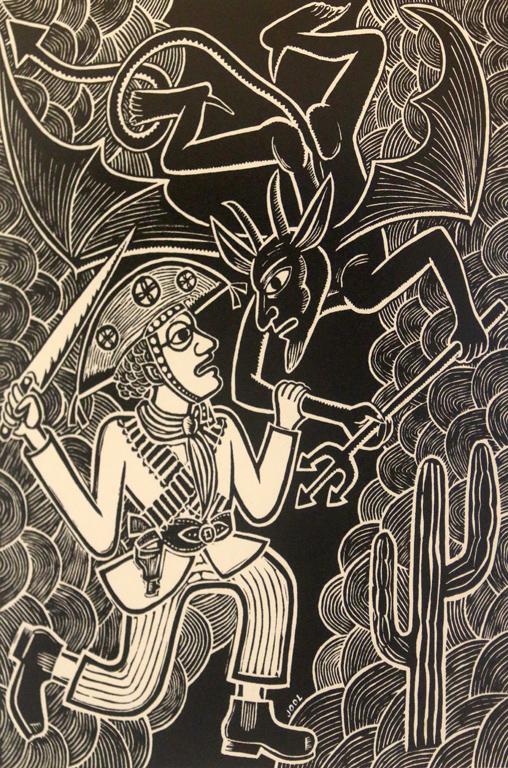 В Галерия Сезони Жо Оливейра показва своята Бразилия с нейната изумителна история, с удивително яркия ѝ колорит, със зрелищните митове и необикновените герои и атрактивни образи
