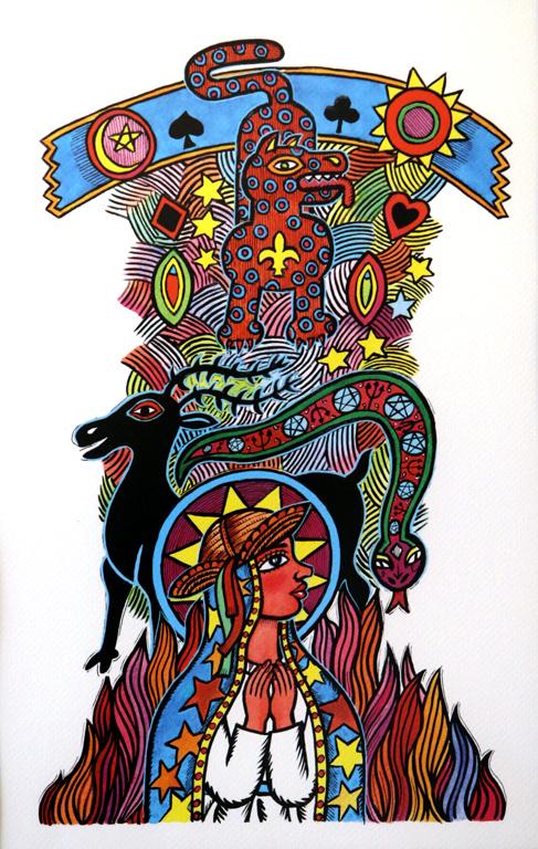 """Имайки предвид тези факти, обръщам специално внимание на българската публиката, която ще види тази изложба - само част на огромната работа на художника. Жо Оливейра е илюстратор на бразилския народ."""" – думи на професор Руи де Оливейра от Академията за изящни изкуства в Рио де Женейро."""
