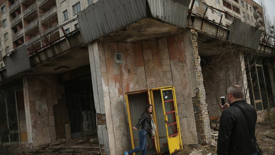 <p><strong>Призрачният Припят</strong>: Днес замърсен и с боклуци</p>