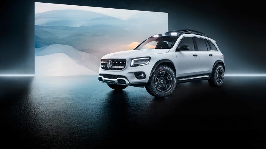 """<p>Mercedes показа малкото """"кубче""""</p>"""
