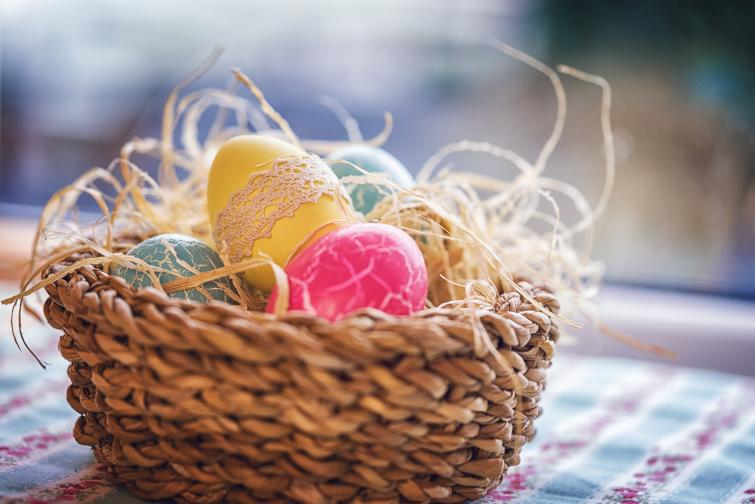 Великден яйца