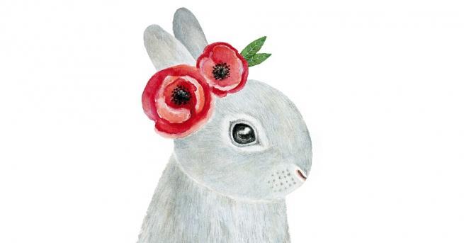 Снимка: Как да: сладко великденско зайче-байче