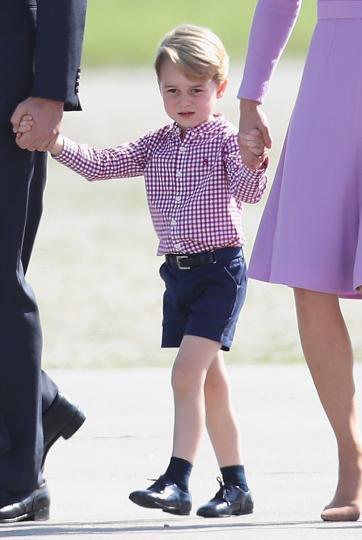 <p>принц Джордж</p>