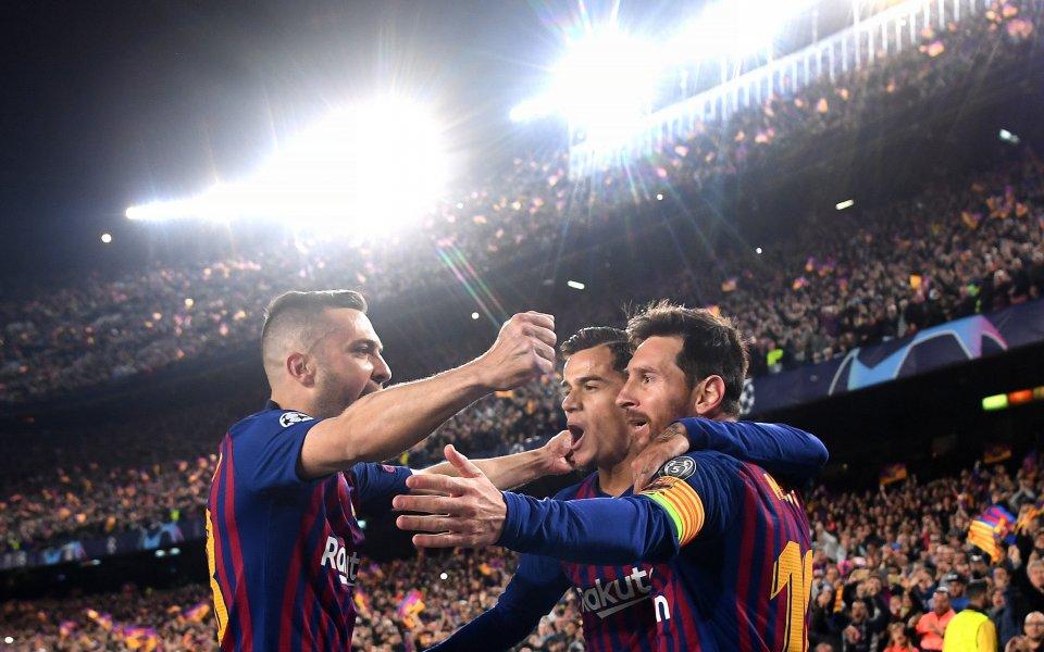Снимка: Целта пред Барселона – 3 мача, 9 дни, 9 точки, шампионска титла