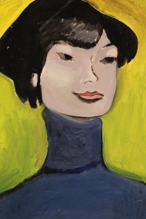 Любен Зидаров, портрет (от другия континент)