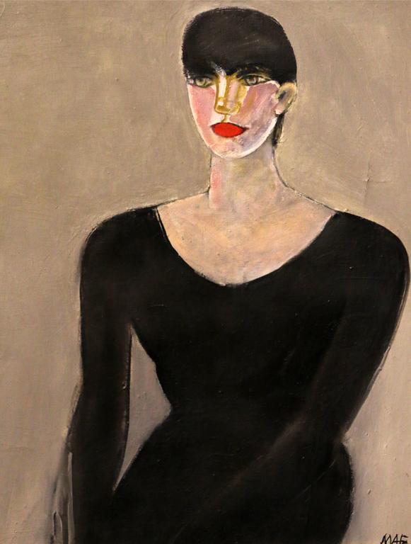 Магда Абазова, Портрет, 1986г.