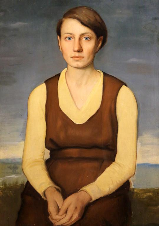 Карл Йорданов, портрет на Васка Емануилова, 1935 г.