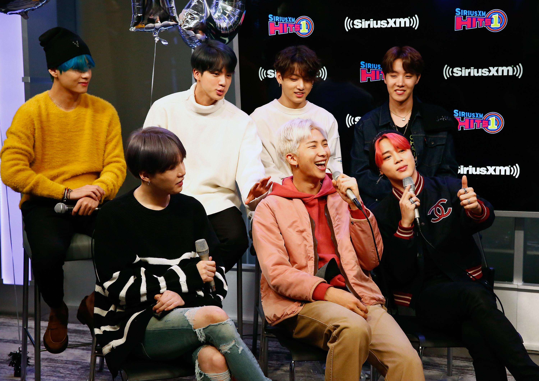 Корейската група BTS