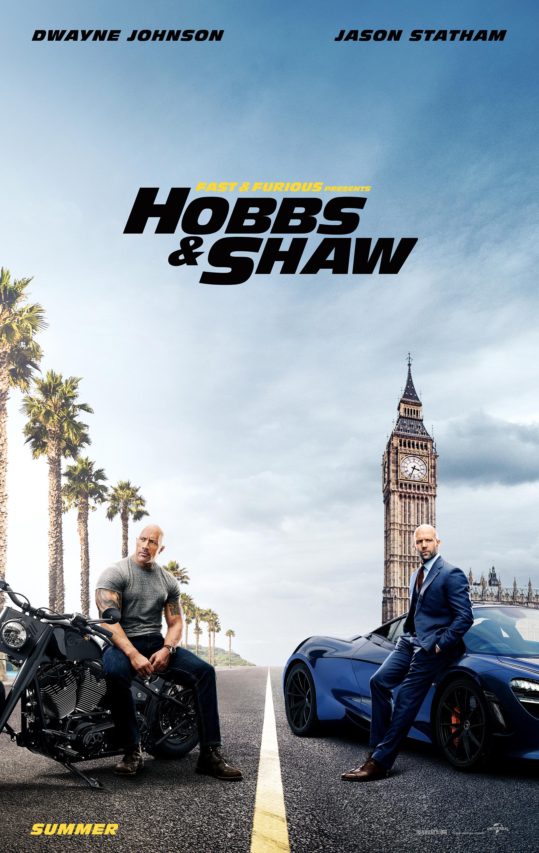 """Fast & Furious Presents: Hobbs and Shaw / """"Бързи и яростни: Хобс и Шоу"""" – Премиерна дата: 02/08/2019; Режисьор: Дейвид Лийч; Участват: Дуейн Джонсън, Джейсън Стейтъм, Идрис Елба"""
