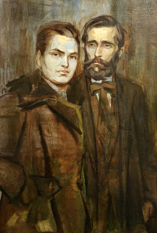 Владимир Димитров - Майстора Павел и Траяна Георгиеви 40-те години на XX век