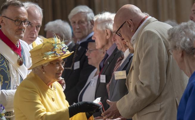 Кралица Елизабет спази стара традиция за Великден