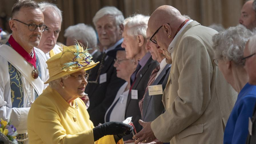 <p>Кралица Елизабет спази стара традиция за <strong>Великден</strong></p>
