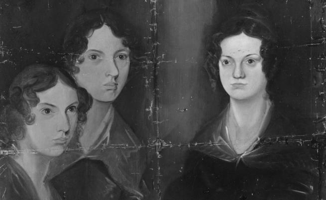 Портрет на сестрите Бронте - Емили, Шарлот и Ан
