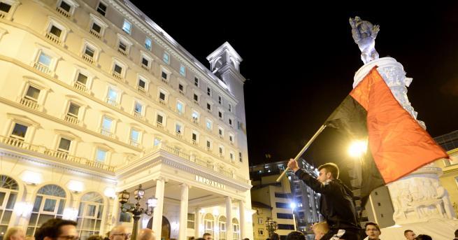Снимка: Балотаж след президентските избори в Северна Македония