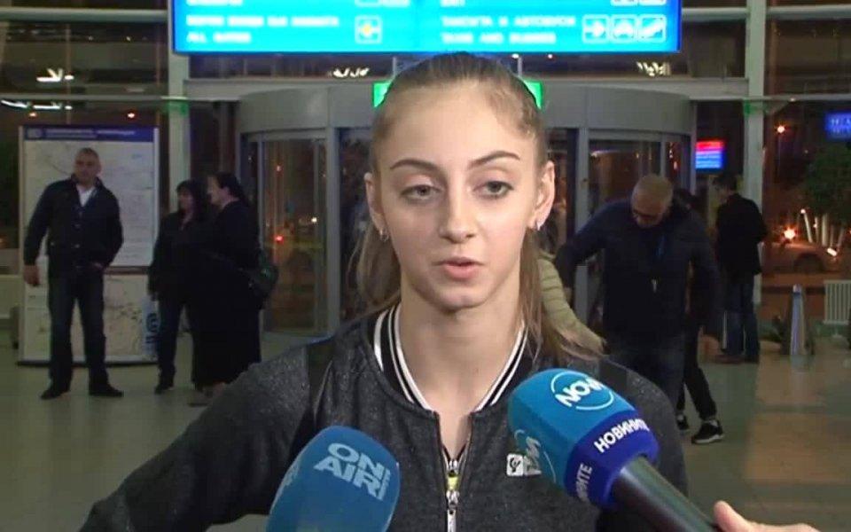 Българската грация от националния тим на България (индивидуално) Боряна Калейн
