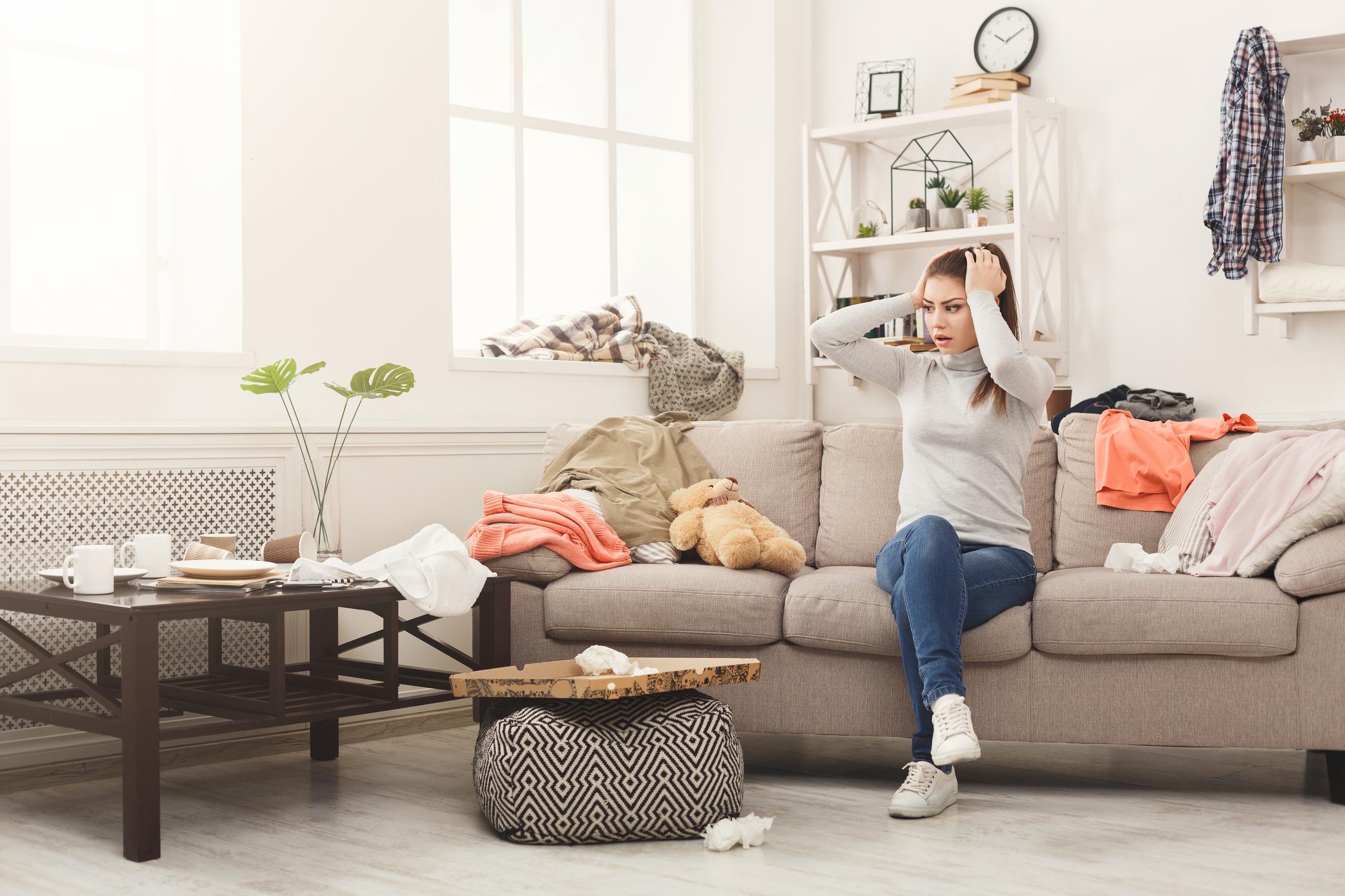 Прибирайте всички неща, когато приключите с използването им. Това е добър навик, ако имате деца, които разхвърлят играчките си из цялата къща.