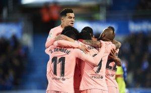 Барселона предвкусва титлата (видео)