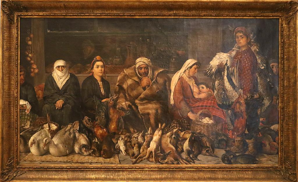 Иван Мърквичка Пловдивски пазар 1887г.