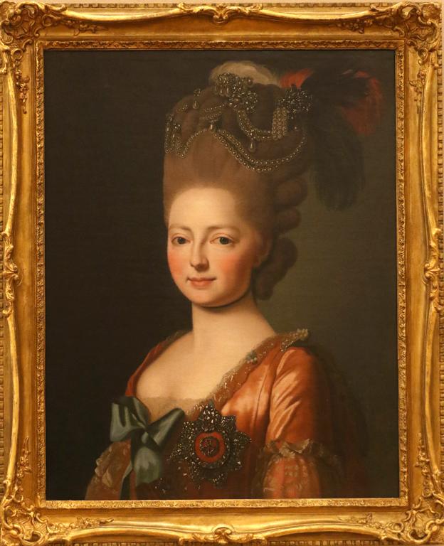 Неизвестен копист Великата княгиня Мария Фьодоровна