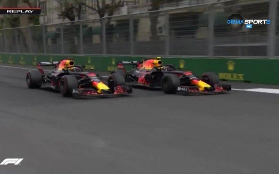Миналогодишното състезание в Гран при на Баку беляза страхотна надпревара