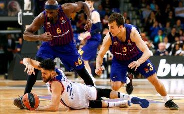 Барселона се качи на върха в Евролигата