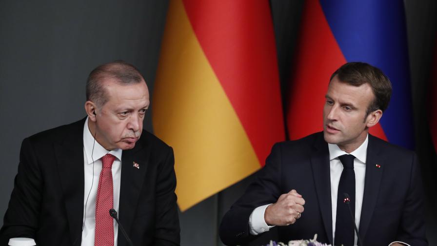 Ердоган към Макрон: Това послание няма да те спаси
