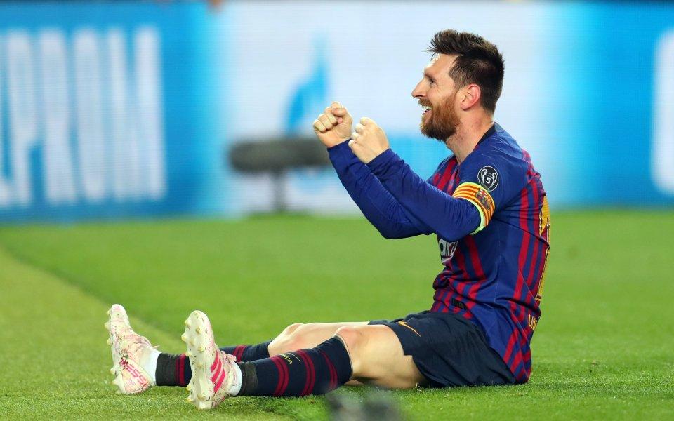 Аржентинската легенда Лионел Меси, който за мнозина е най-добрият футболист