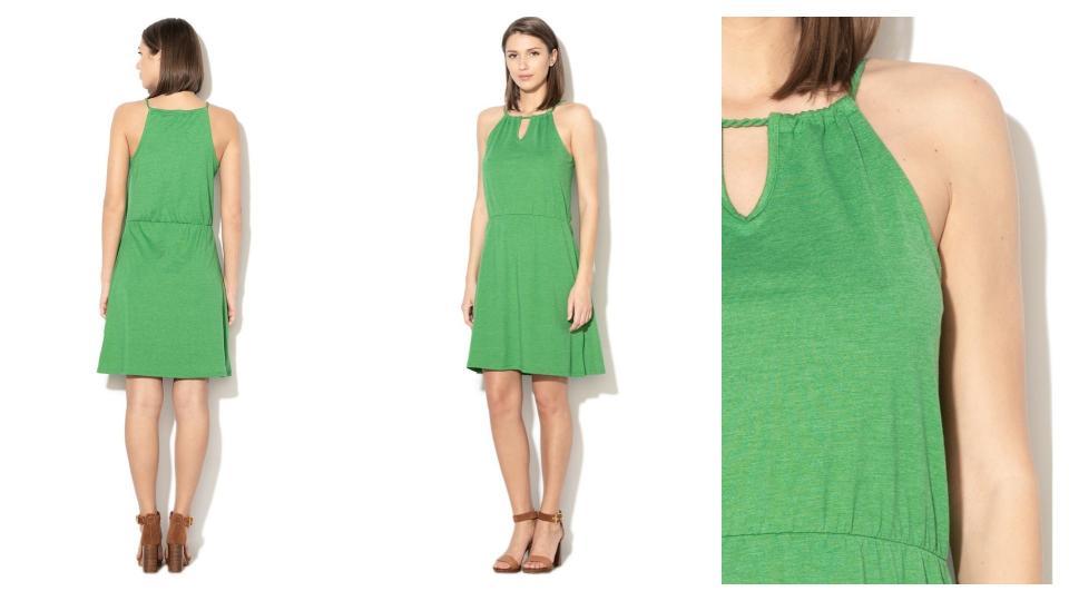 Изгодната зелена рокля, която летният ти гардероб трябва да има