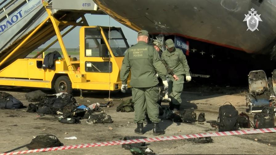 Проговори пилотът на катастрофиралия самолет в Москва