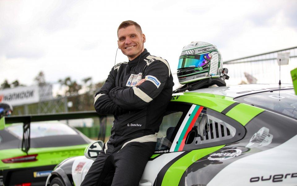 Изключително трудно начало за Георги Дончев в Carrera Cup 2019