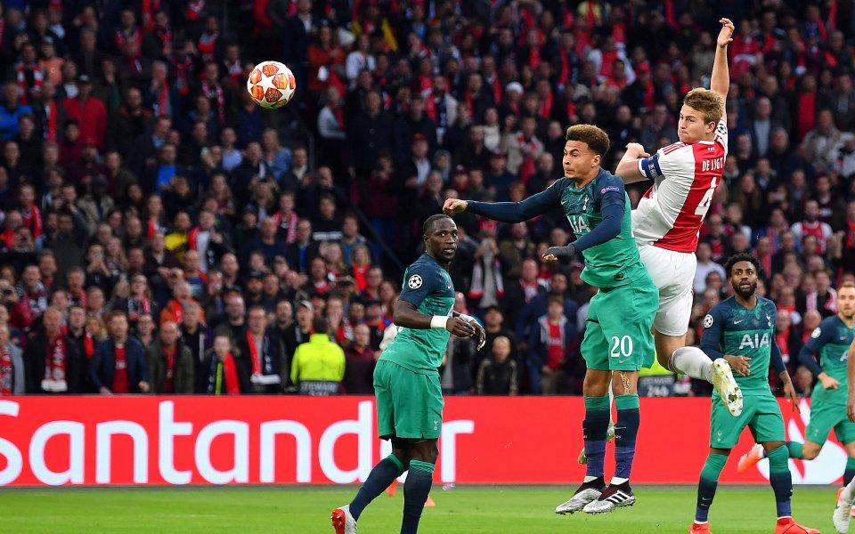 Аякс води на Тотнъм с 1:0 в полуфиналния реванш от