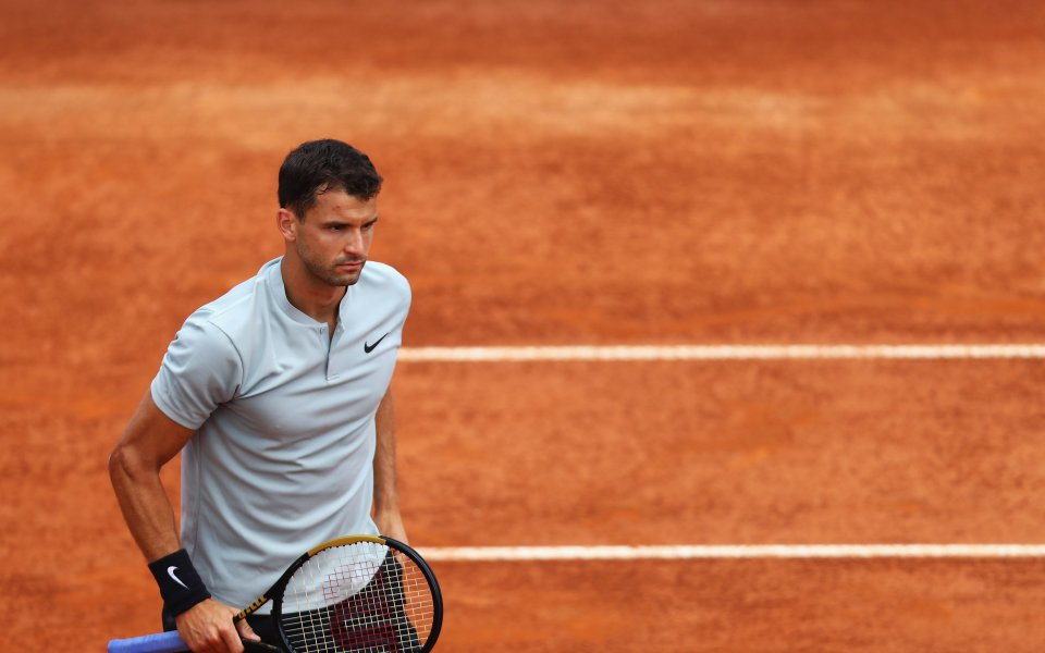 Григор Димитров започна със загуба в Рим