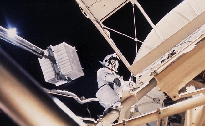 """""""Скайлаб"""" – една от първите космически станции"""