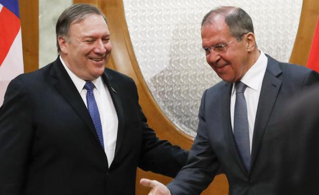 Помпео в Русия, Путин иска да възстанови отношенията