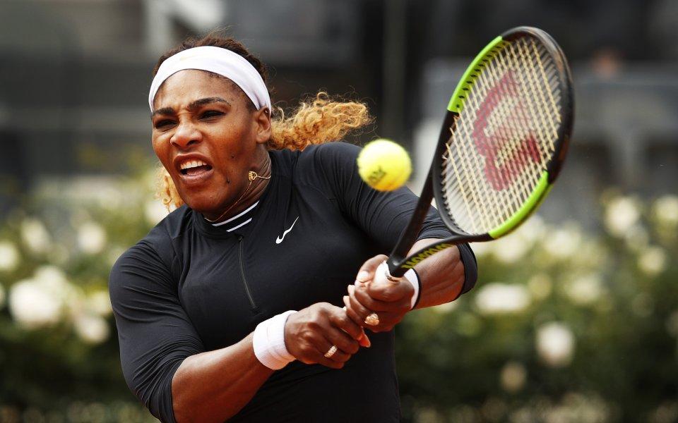 Серина Уилямс се оттегли от турнира в Рим