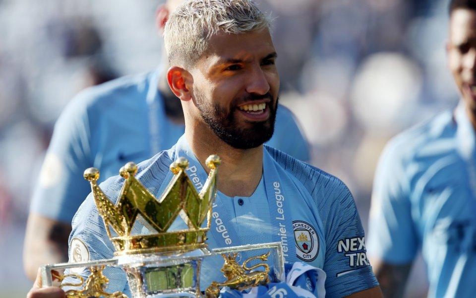 Нападателят на Манчестър Сити и шампион на Англия Серхио Агуеро