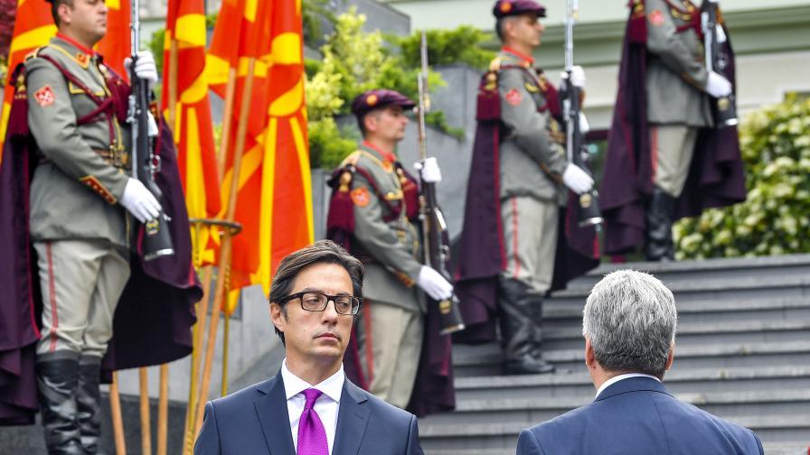 Македонският президент: Исторически факт е, че Гоце Делчев се е определял като българин