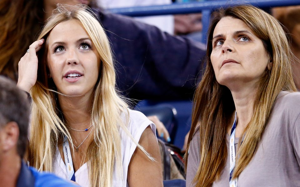 Тенисистката Южени Бушар е голямата звезда на своето семейство, но