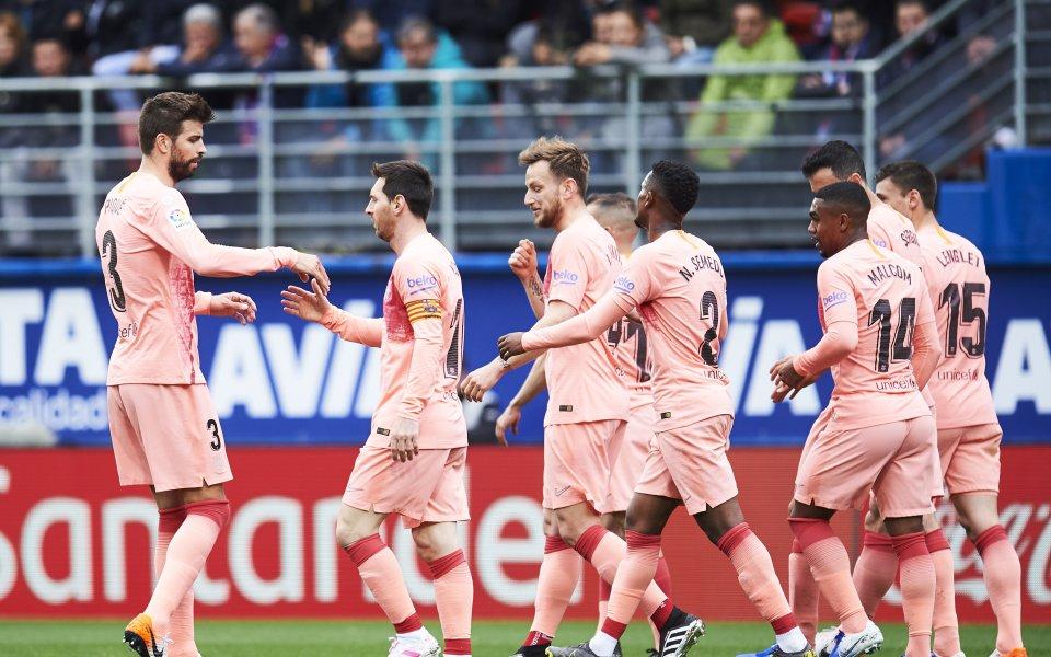 Барселона завърши сезона с равенство – 2:2 при визитата на