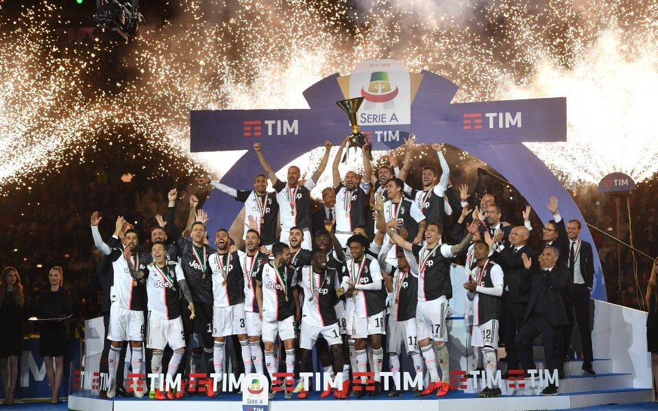 Смениха името на Ювентус на електронната игра FIFA 20, която