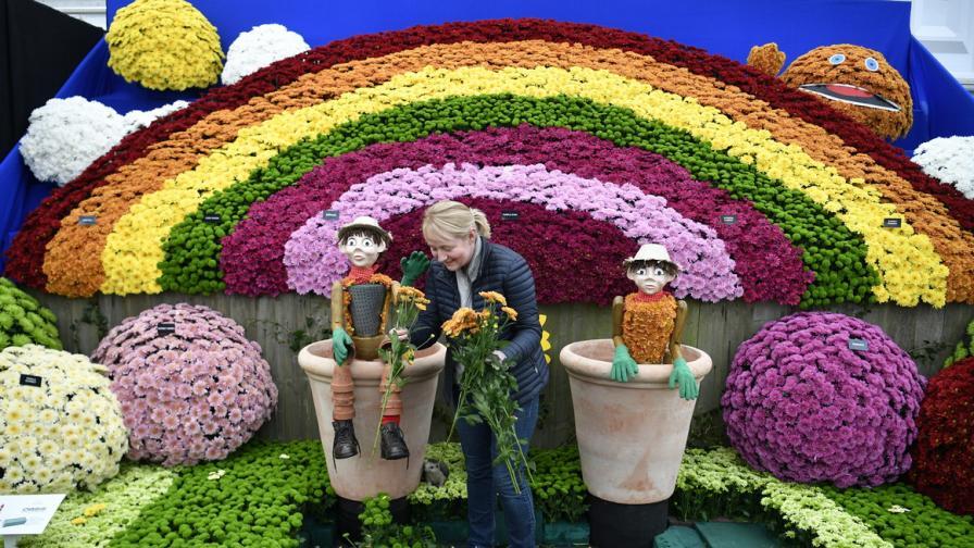 Изложението за цветя в Челси