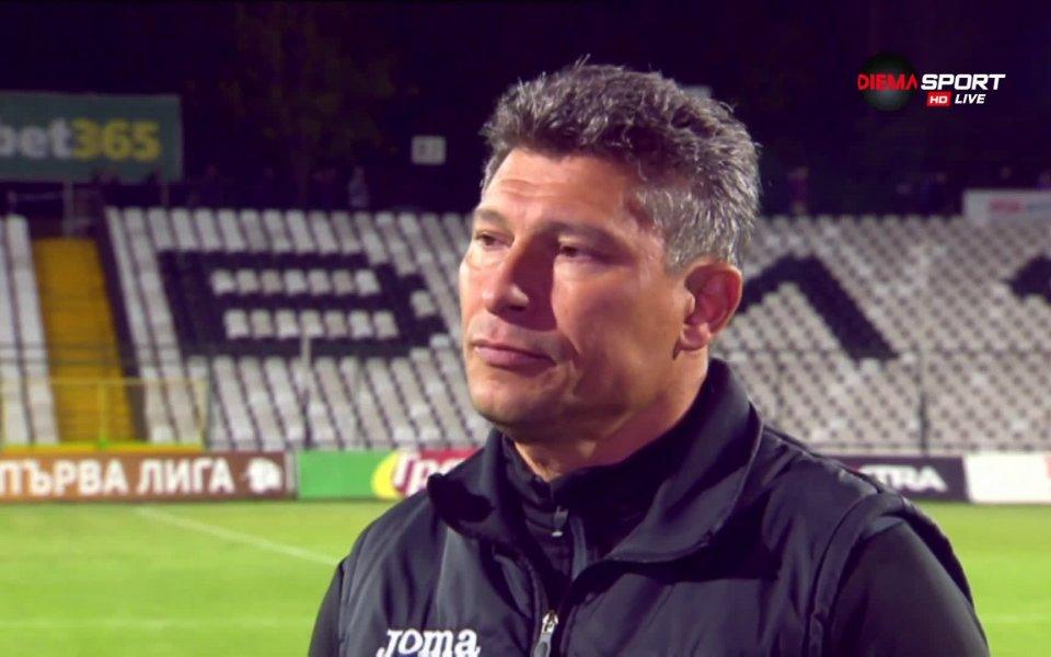 Старши треньорът на Етър Велико Търново и на националния отбор